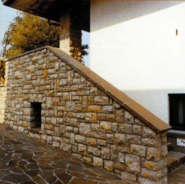 pietra per muri rivestimenti muretti in pietra di Credaro